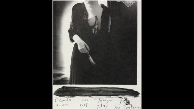 """""""i could not longer// i could not play by instinct."""" Francesca Woodman. RISD,1977."""