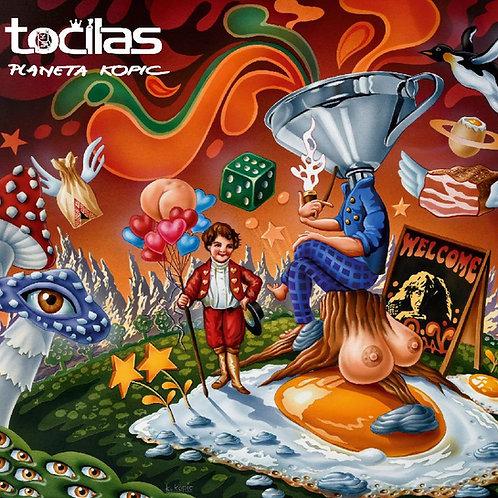 Točílas - Planeta Kopic (2018 - wav + komplet obal)