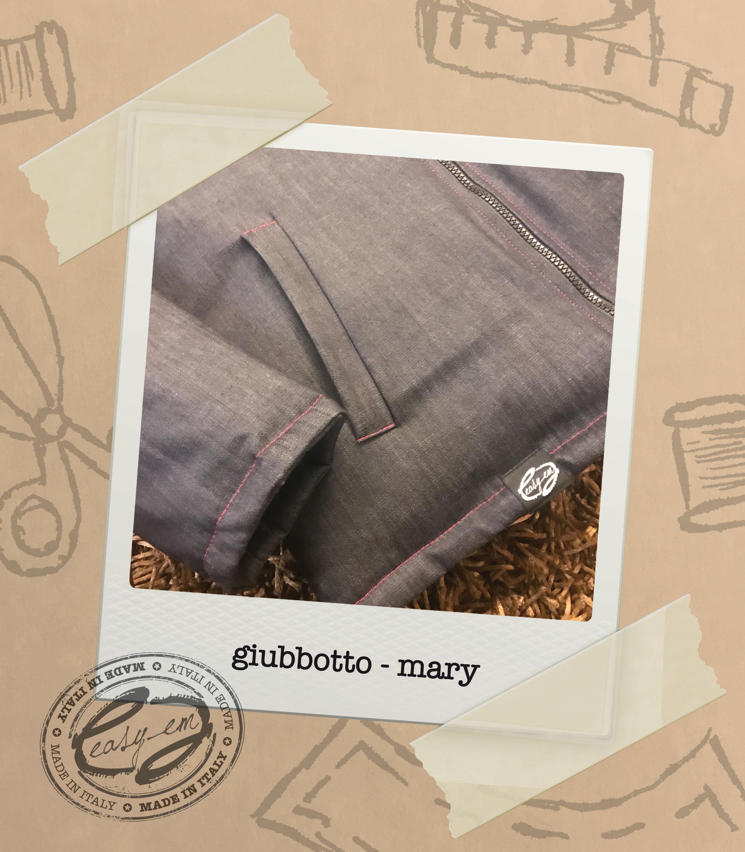 giubbotto jeans modello mary