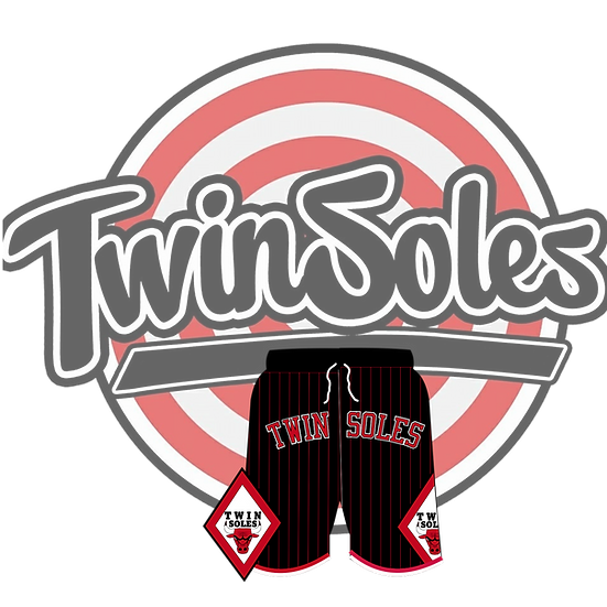 Twin Soles Bulls Shorts Black