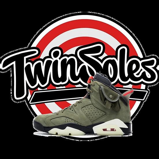 "Air Jordan ""Travis Scott"" 6s"