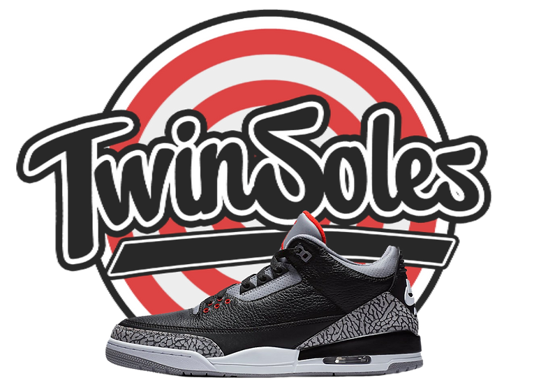 "GS Jordan 3 OG ""Black Cement"""