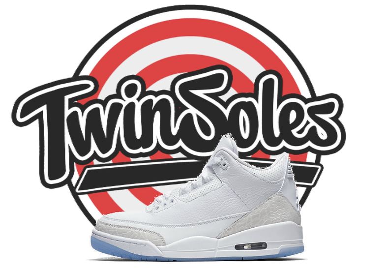"Jordan Retro 3 ""Triple White"""