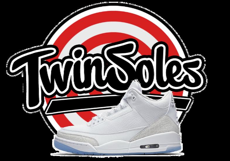 "Jordan Retro 3 ""Triple White"""