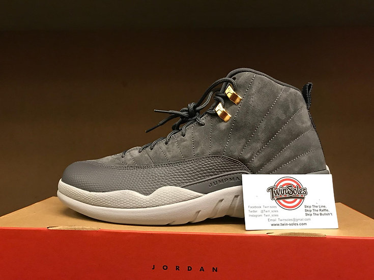 "Jordan Retro 12 ""Dark Grey"""