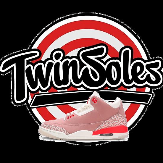 "Wmns Jordan 3 ""Rust Pink"""