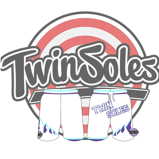 Twin Soles Jazz Shorts White