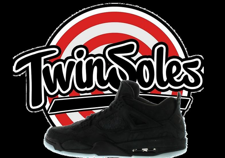 "Jordan 4 ""Black Kaws"""