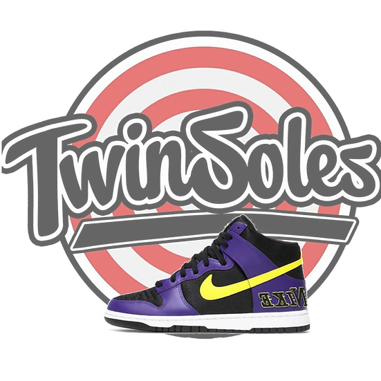 "Nike Dunk High ""Laker"""