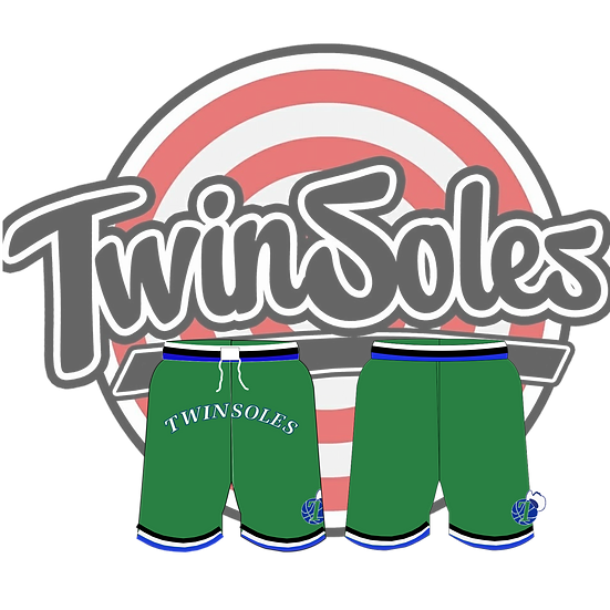 Twin Soles Mavs Shorts Green