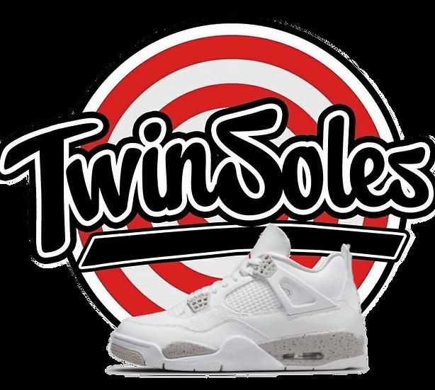 """TD Jordan Retro 4 """"White Oreo"""""""