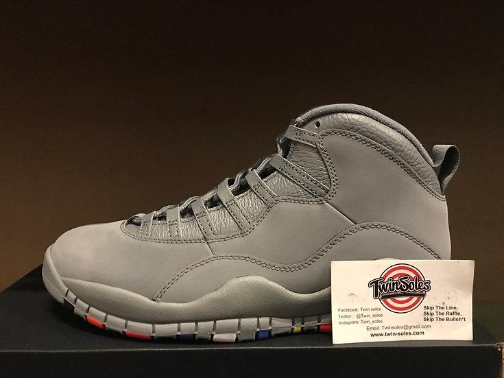 "Jordan Retro 10 ""Cool Grey"""