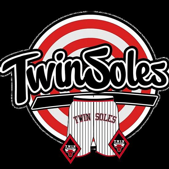 Twin Soles Bulls Shorts White