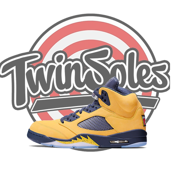 "Jordan Retro 5 ""Michigan"""