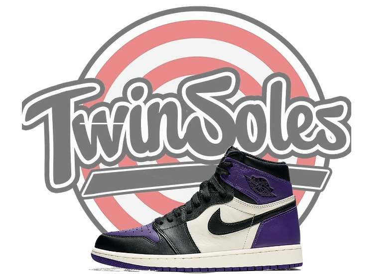 "Gs Jordan Retro 1 ""Court Purple"""