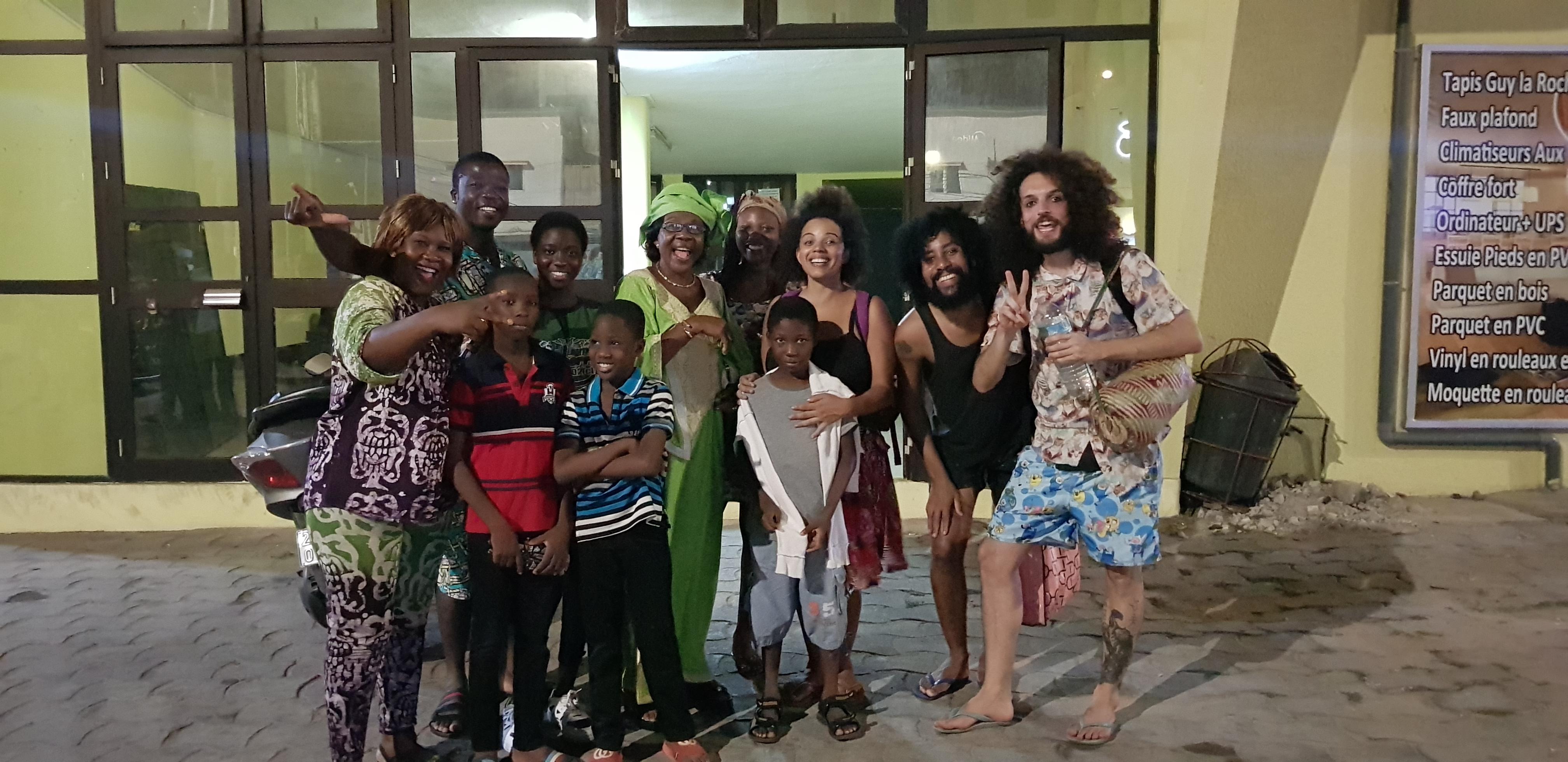 Maida Festival com Familia Locossou