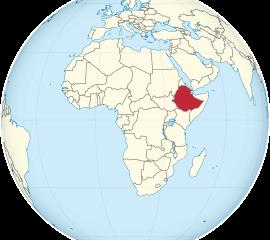 Conexão em Addis Abeba, Etiópia