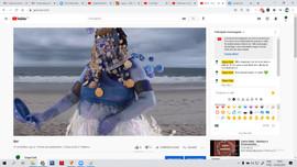 Exibição do videodança Bori