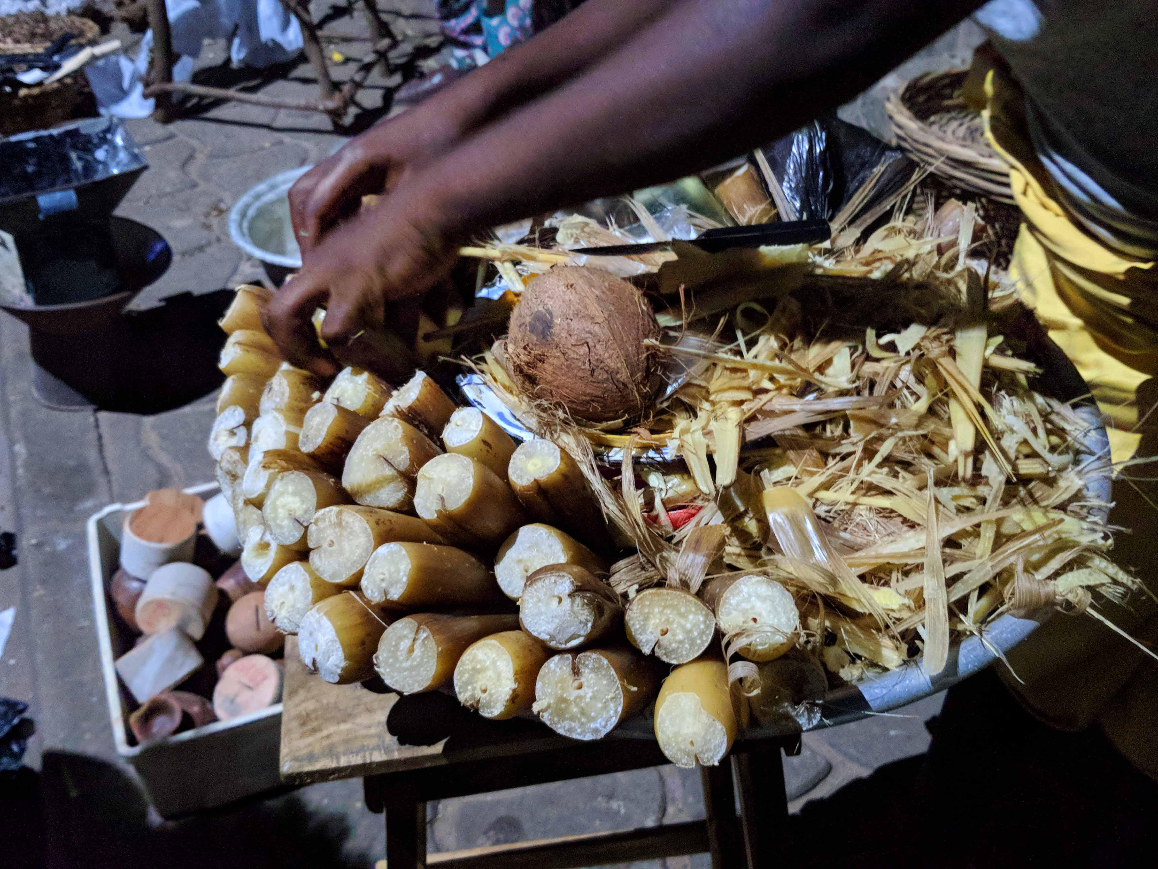 Comida Tipica em Ouidah