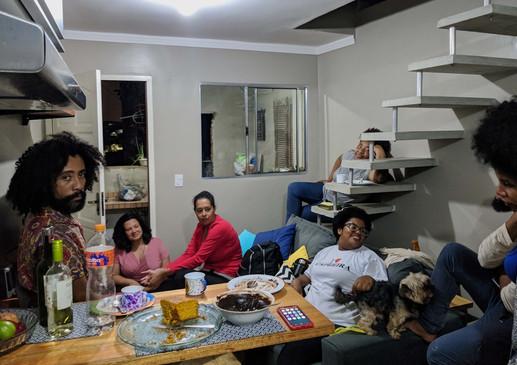Visita à casa de Thico Lopes