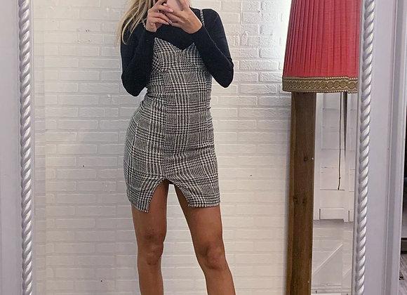 Karo Mini Kleid