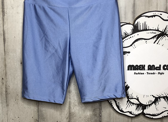 Radler-Shorts glänzend