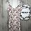 Thumbnail: Enganliegendes Blumen Kleid