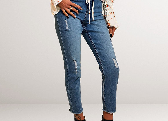 Pieces Jeans Cropped