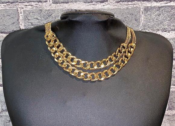 Halskette grobgliedrig