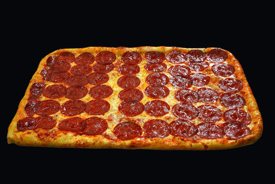 Party Pizza Square