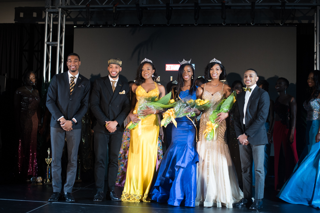 2018 Miss Black and Gold Court