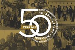 Zeta Mu 50th Anniversary!