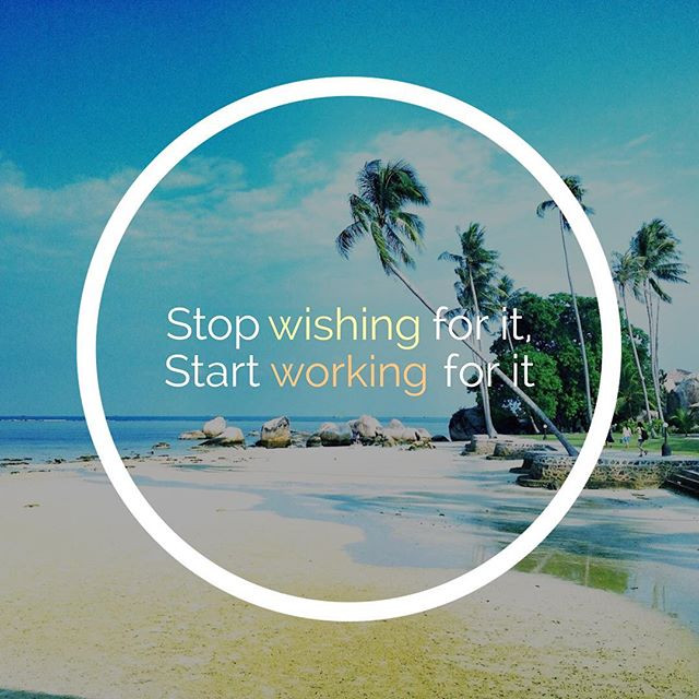 Palm trees, Summer, quotes