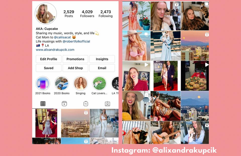 Alixandra Kupcik Instagram