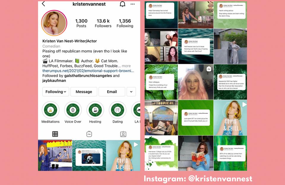 Kristen Van Nest Instagram