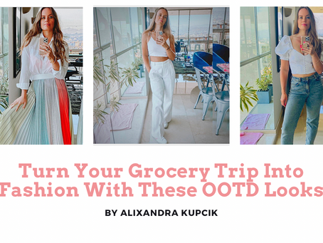 Transform Your Grocery Trip into Fashion with These 5 OOTD Looks