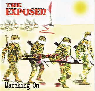 Cover Design for 'THE EXPOSED' debut CD