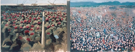 War & Peace (Diptych) (2003).jpg
