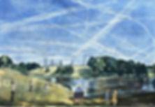 Look up! Chemtrails (geoengineering) is