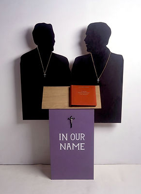 In Our Name (2003-4) Mixed Media.1m80cm