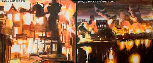 'Sickening Violence' (2011) Size - 76cm