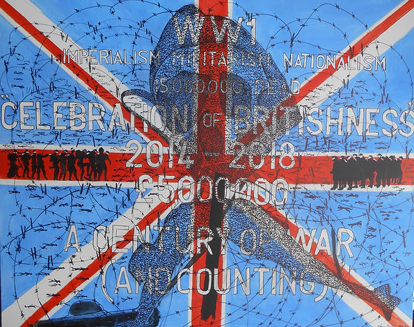 World War 1 - No Glory' (2014) 1m22cms x
