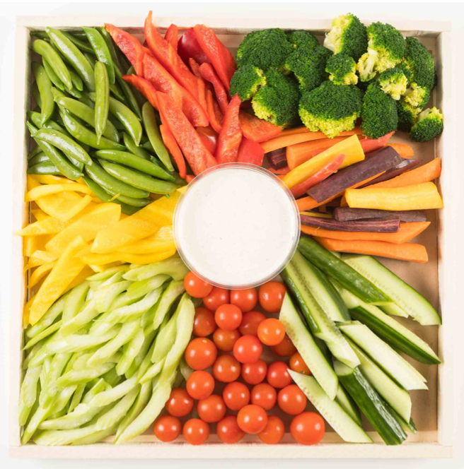Creating a crudite platter & MORE