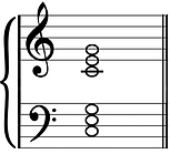 C triads in C position