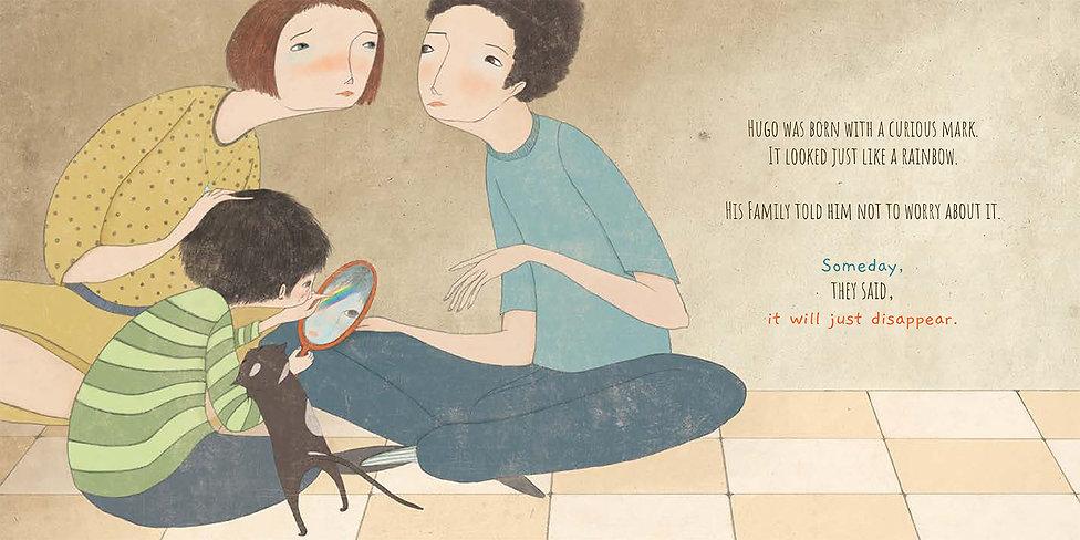 HUGO - the boy with the curious mark man