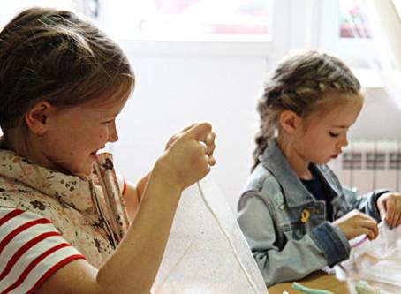 Как мы учим шить в Школе Юного Модельера First Dress