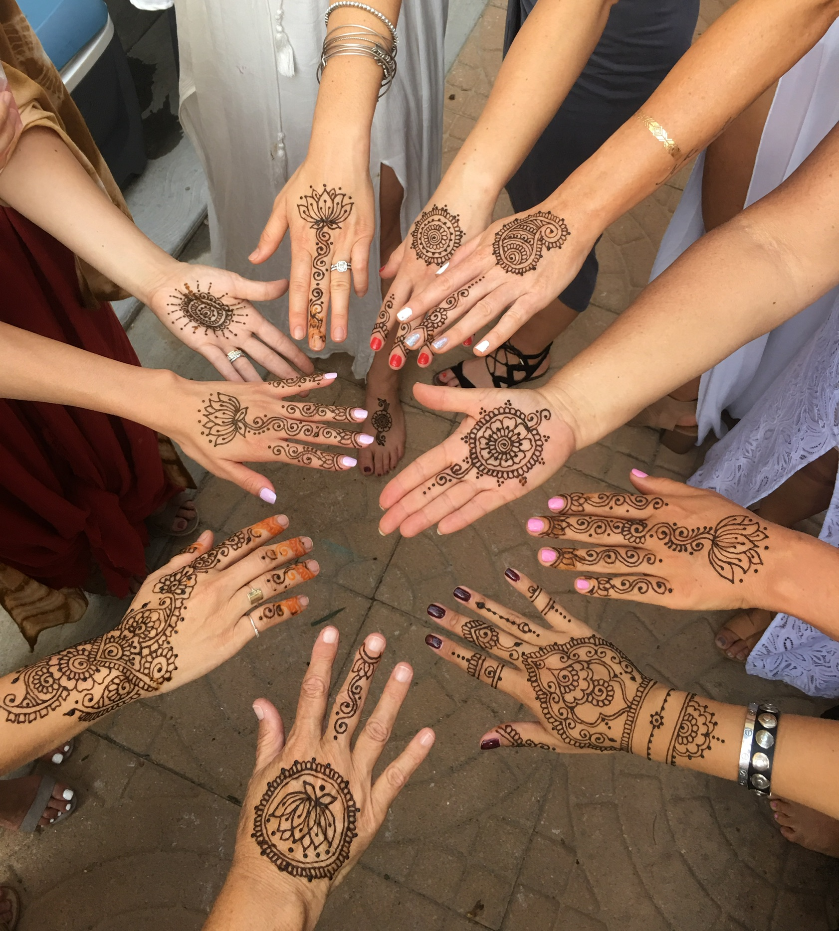Henna Tattoo Artist Hennatradition Torrance Ca