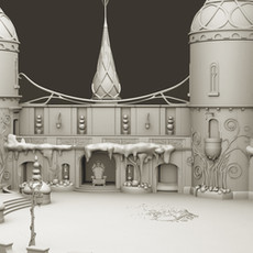 Oz The Great and Powerful Castle