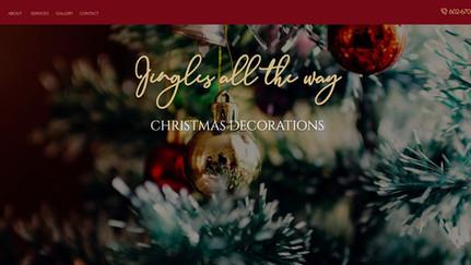 Jingles Christmas Decorations