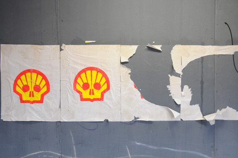 Shell Paste-up